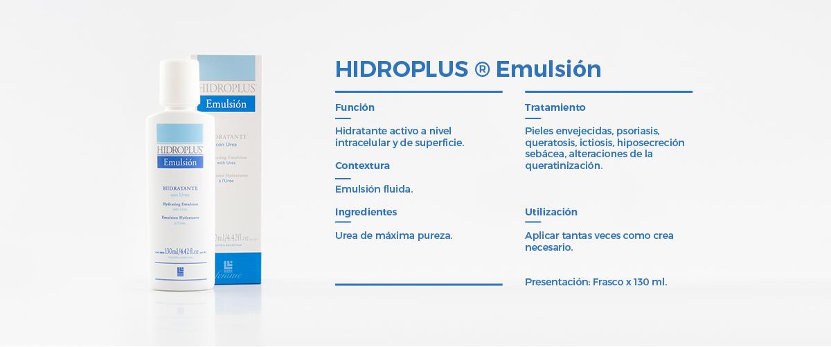 Cuerpo  Hidroplus Emulsion
