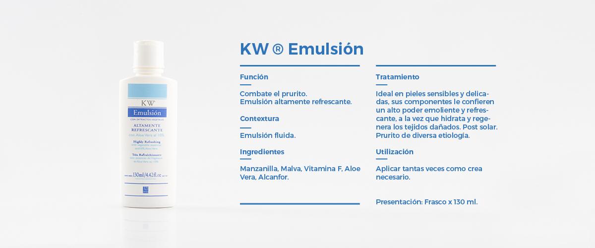 Cuerpo  KW Emulsion